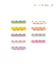 운더킨 FLOWER CLIP / 9 COLORS